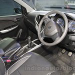 Maruti Baleno RS dashboard at the Auto Expo 2016