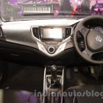 Maruti Baleno RS dashboard pic at the Auto Expo 2016