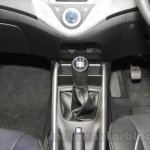 Maruti Baleno RS gear at the Auto Expo 2016