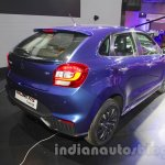 Maruti Baleno RS rear quarter at the Auto Expo 2016
