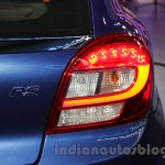 Maruti Baleno RS taillight at the Auto Expo 2016
