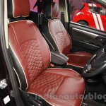 Maruti Ertiga Limited Edition front seat at the Auto Expo 2016