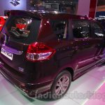 Maruti Ertiga Limited Edition rear three quarter at the Auto Expo 2016