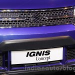 Maruti Ignis concept grille at the Auto Expo 2016