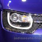 Maruti Ignis concept headlight at the Auto Expo 2016