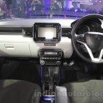 Maruti Ignis dashboard at the Auto Expo 2016