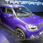 Maruti Ignis front quarter at the Auto Expo 2016