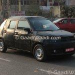 Maruti Ignis front quarter spied India
