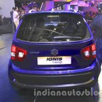 Maruti Ignis rear angle at the Auto Expo 2016