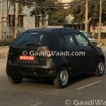 Maruti Ignis rear quarter spied India
