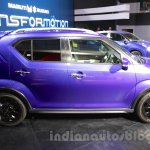 Maruti Ignis side at the Auto Expo 2016