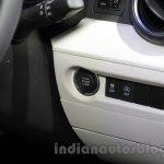 Maruti Ignis starter button at the Auto Expo 2016