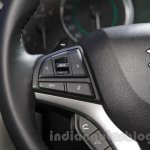 Maruti Ignis steering mounted controls at the Auto Expo 2016