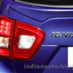 Maruti Ignis taillights at the Auto Expo 2016