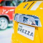 Maruti Vitara Brezza Custom stripe at Auto Expo 2016