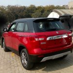 Maruti Vitara Brezza Red spied before launch