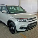 Maruti Vitara Brezza White spied before launch