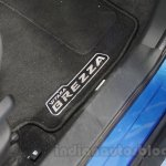 Maruti Vitara Brezza floor mats at the 2016 Auto Expo