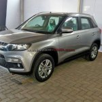 Maruti Vitara Brezza front quarters spied before launch