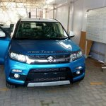 Maruti Vitara Brezza front spied before launch