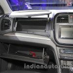 Maruti Vitara Brezza glovebox at the 2016 Auto Expo