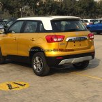 Maruti Vitara Brezza rear quarter spied before launch