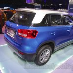 Maruti Vitara Brezza rear three quarters at the 2016 Auto Expo