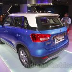 Maruti Vitara Brezza rear three quarters left at the 2016 Auto Expo