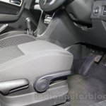 Maruti Vitara Brezza seat height adjustment at the 2016 Auto Expo
