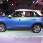 Maruti Vitara Brezza side view at the 2016 Auto Expo