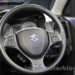 Maruti Vitara Brezza steering wheel at the 2016 Auto Expo