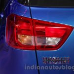 Maruti Vitara Brezza taillamp at the 2016 Auto Expo