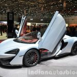 McLaren 570GT doors up at the 2016 Geneva Motor Show Live