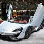 McLaren 570GT front three quarter at the 2016 Geneva Motor Show Live