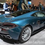 McLaren 570GT rear three quarter at the 2016 Geneva Motor Show Live