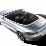 Mercedes C-Class Cabriolet sketch