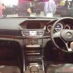 Mercedes E Class Edition E interior launched