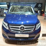 Mercedes V-Class Exclusive Edition front at the 2016 Geneva Motor Show