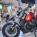 Moto Guzzi Audace alloy wheel at Auto Expo 2016