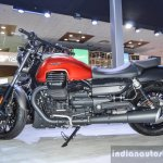 Moto Guzzi Audace engine at Auto Expo 2016