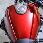 Moto Guzzi Audace fuel tank at Auto Expo 2016