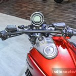Moto Guzzi Audace handlebar at Auto Expo 2016