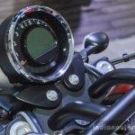 Moto Guzzi Audace instrument console at Auto Expo 2016