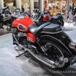 Moto Guzzi Eldorado exhaust at Auto Expo 2016