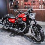 Moto Guzzi Eldorado front quarter at Auto Expo 2016