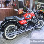 Moto Guzzi Eldorado rear quarter at Auto Expo 2016