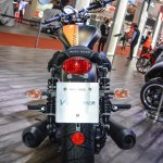 Moto Guzzi V9 Bobber tail lamp at Auto Expo 2016