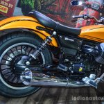 Moto Guzzi V9 Roamer exhaust at Auto Expo 2016