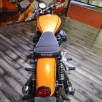 Moto Guzzi V9 Roamer rear at Auto Expo 2016