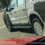 New Chevrolet Colorado High Country (facelift) side spotted testing